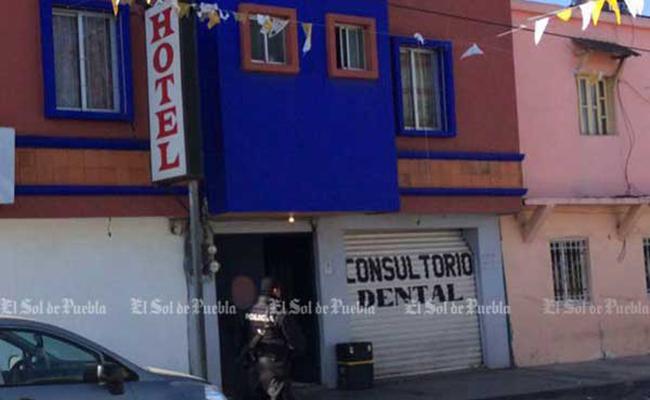 Comando armado no irrumpió en hotel de Puebla: CNS