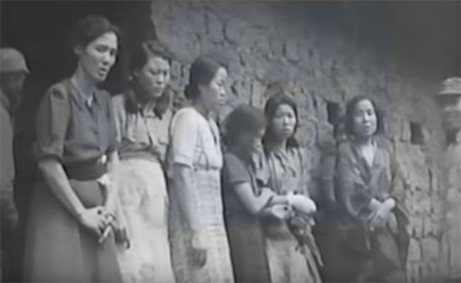 Tras 73 años oculto, revelan primer video de las esclavas sexuales coreanas