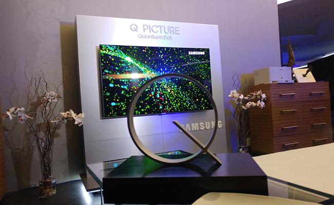 Samsung da entrada a la nueva era de televisiones con su QLED TV