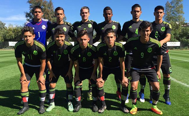 Empata México Sub 18 sin goles con Qatar en juego amistoso