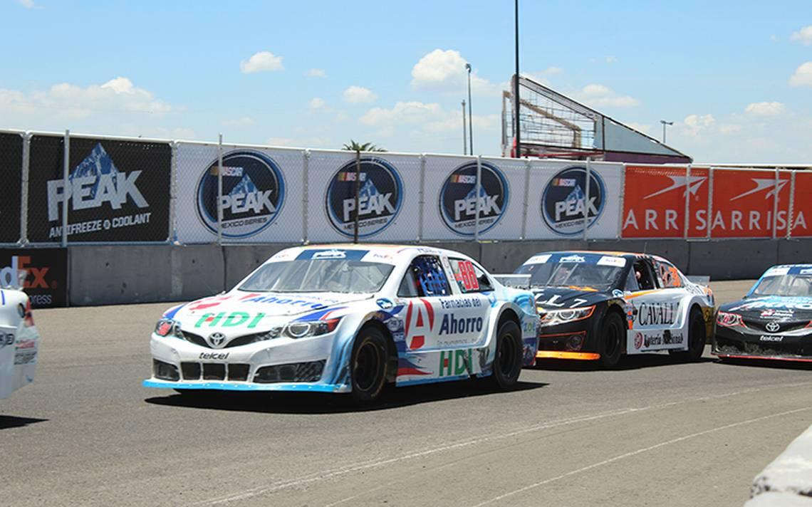 Rubén García Jr peleará podio en la NASCAR