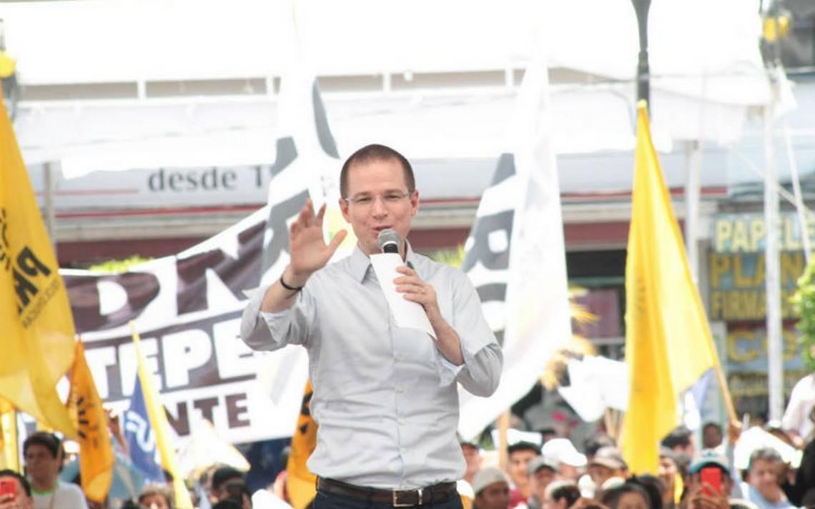 Critica Anaya a gobiernos priistas por corrupción