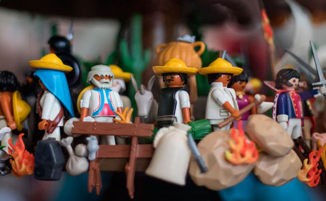 No te pierdas #PlaymoHistoria, la exposición de Playmobil en CDMX