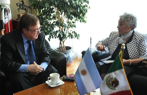 México se ha comportado siempre muy bien con los argentinos: Embajador