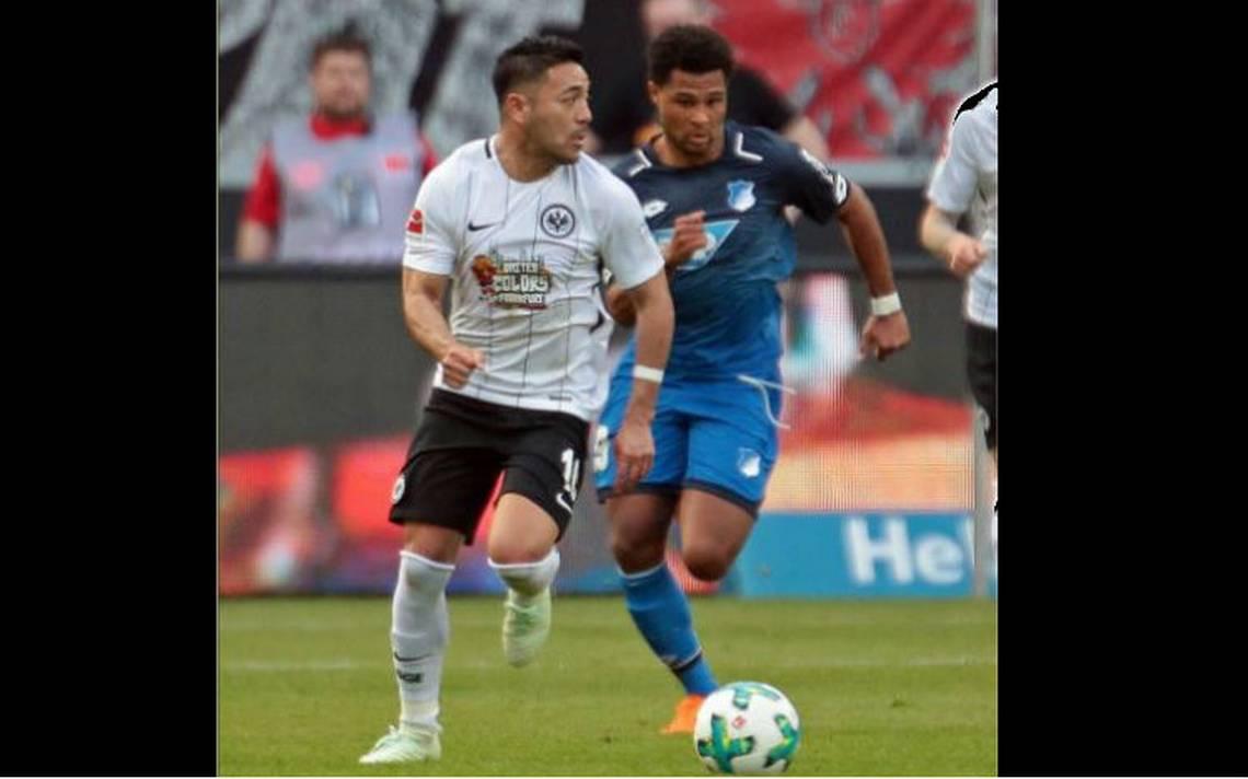 Con Marco Fabián 30 minutos, Frankfurt pierde 0-3 ante Hertha