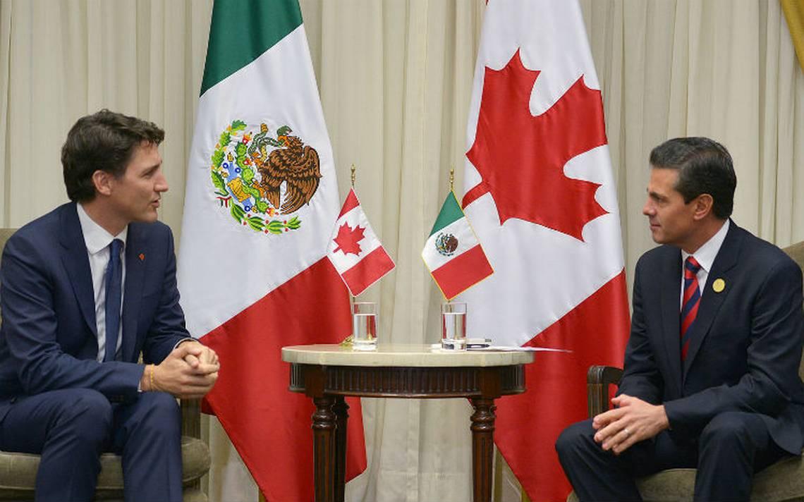EPN habla con Trudeau sobre avances en pactos comerciales