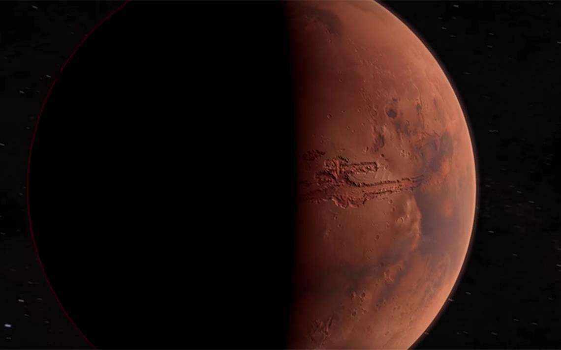 [Video] Revelan imágenes inéditas del cráter Neukum en Marte