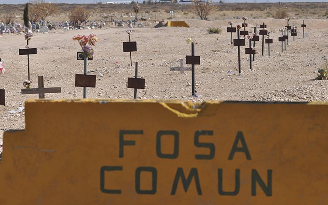 Muertos sin familia: van a la fosa común 40 cadáveres en Chihuahua