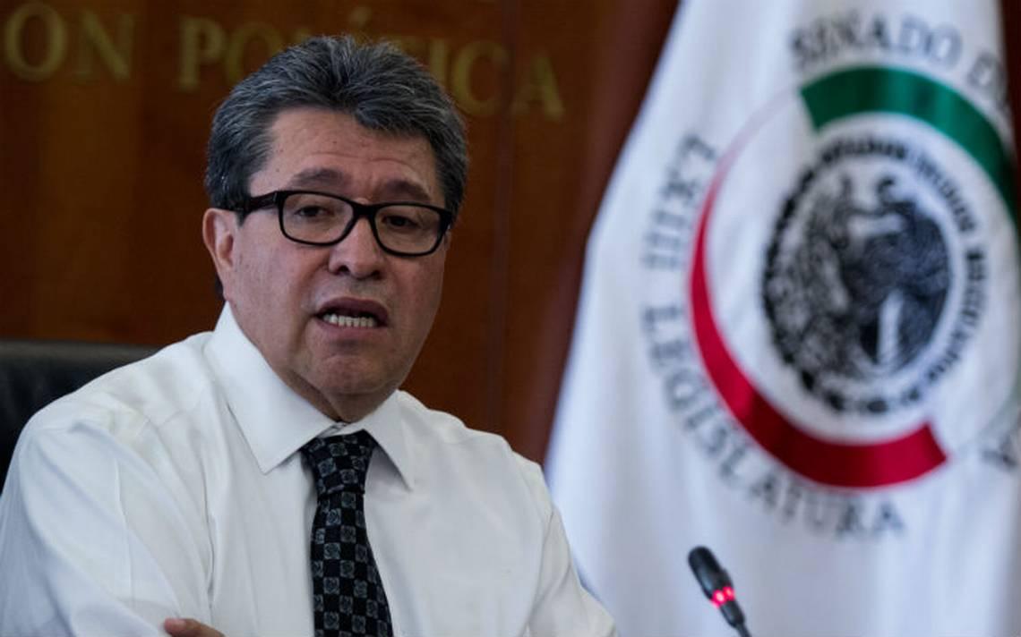 Monreal evita condena a senador García Cabeza de Vaca
