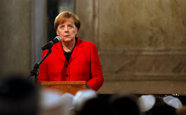 """Merkel visita México mañana, una exhibición del """"músculo político"""" frente a Trump"""