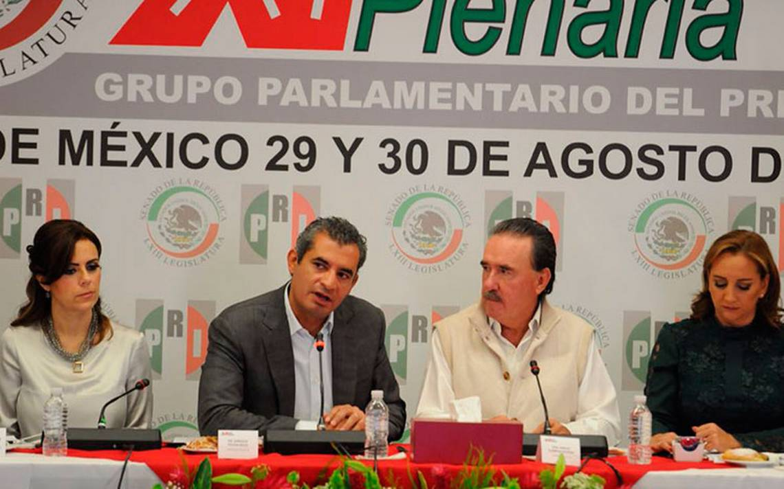 PRI no acepta guerras, expresa Ochoa Reza al PAN