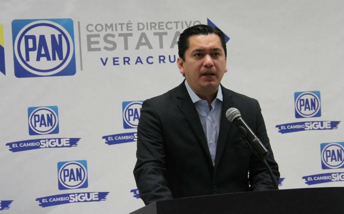 Yunes Márquez, único aspirante a la precandidatura del PAN a gobernador