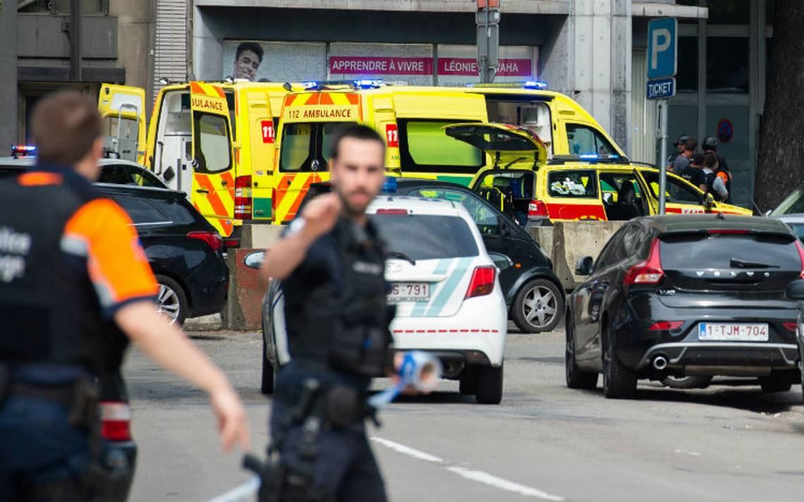 Mueren dos policías y un civil en ataque armado en Lieja