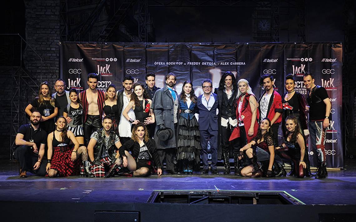 """Freddy Ortega estrena Jack el musical """"El destripador: el rockstar del horror"""""""