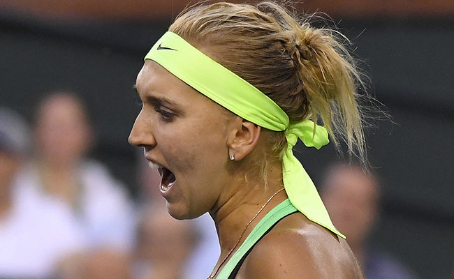 Elena Vesnina le gana a Venus Williams en el Torneo de Indian Wells