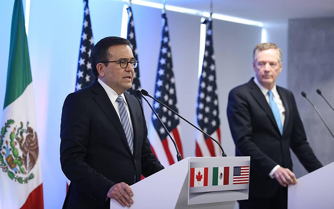 México y EU cerrarían negociaciones sobre TLCAN este jueves