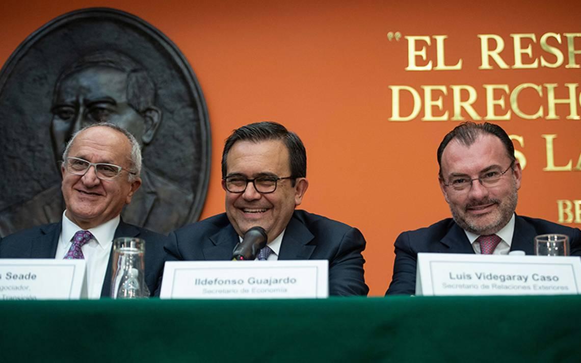 México reconoce a EU por enviar al Congreso acuerdo en TLCAN