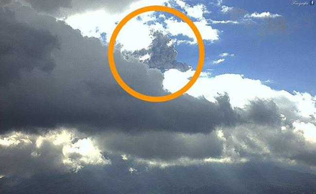 Volcán Popocatépetl registra fuerte explosión por ruptura del domo No.71