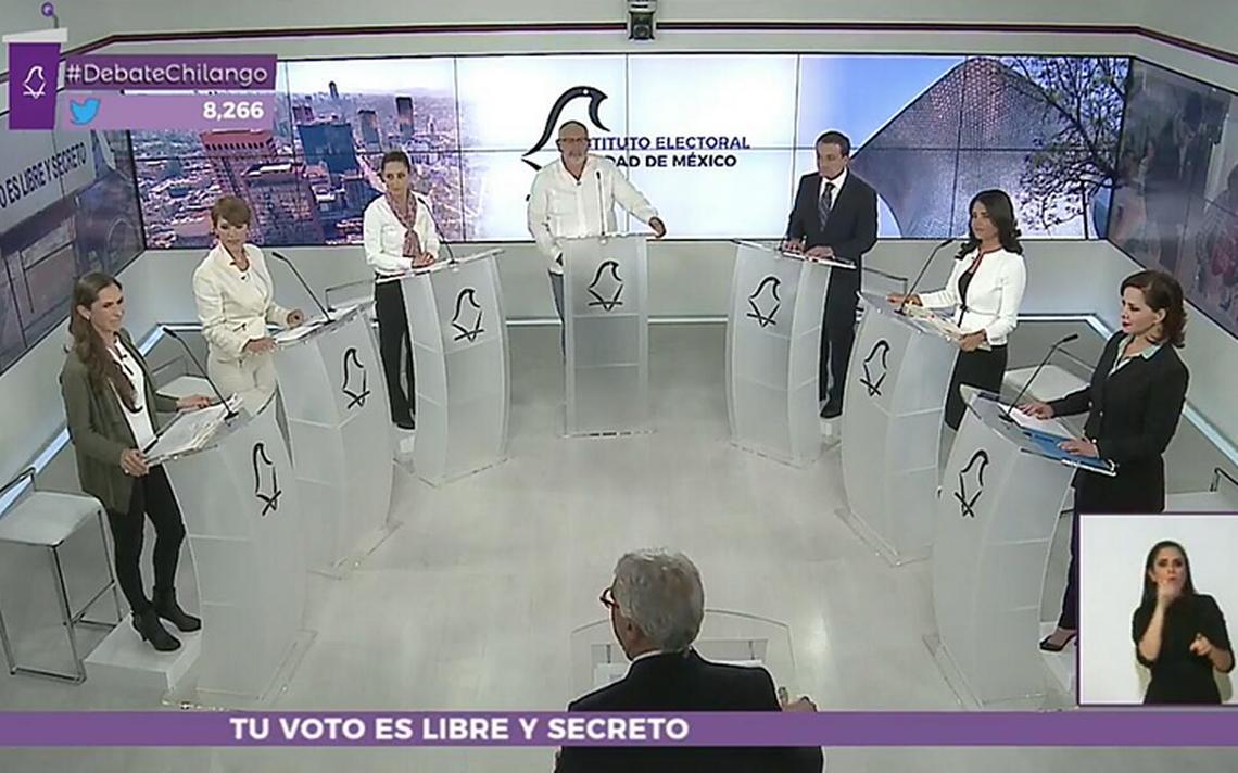 Lo que pasó en el primer #DebateChilango