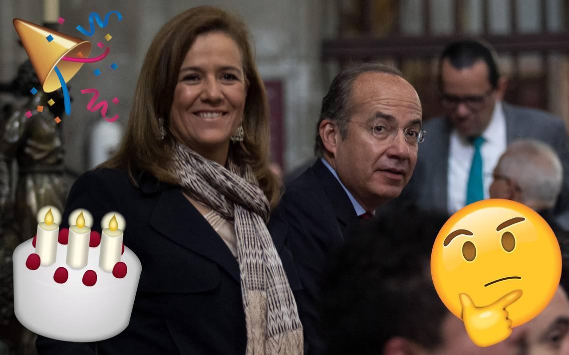 ¿Qué quiso decir? Calderón felicita a Zavala por su cumpleaños y le llueven regaños