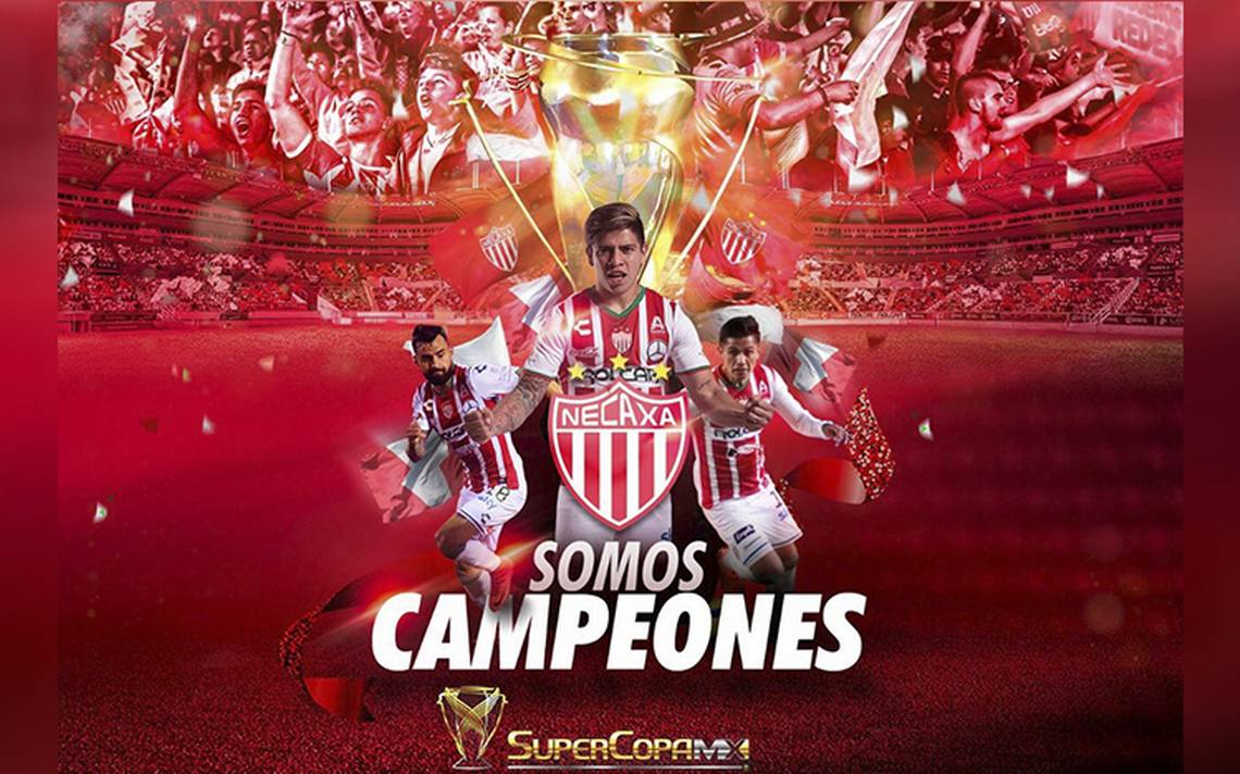Necaxa, campeón de la Supercopa MX