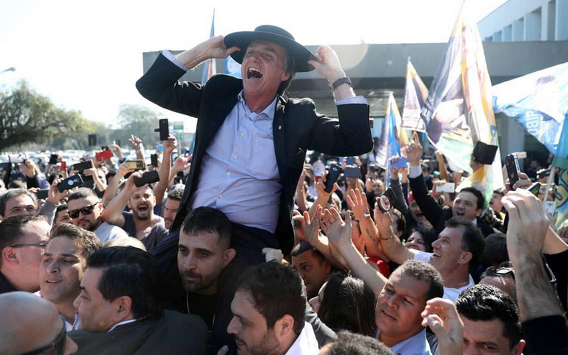 Jair Bolsonaro con posibilidad de llegar a la segunda vuelta de las elecciones presidenciales en Brasil