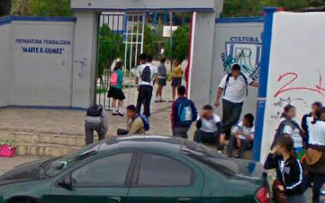Padres exigen blindar escuelas de Tamaulipas tras ataques; 50% de ausentismo en Prepa 1