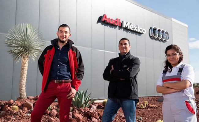 Por error, Audi deposita bono de hasta 34 mil pesos a sus trabajadores