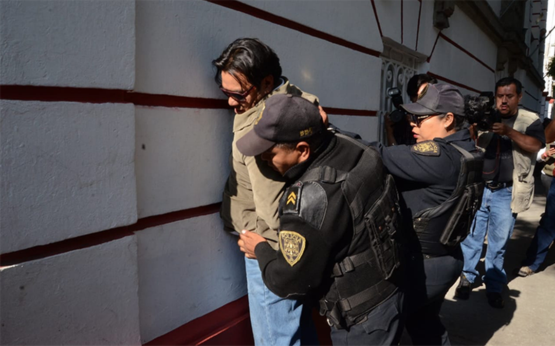 Detienen a presunto ladrón afuera de la casa de transición de AMLO
