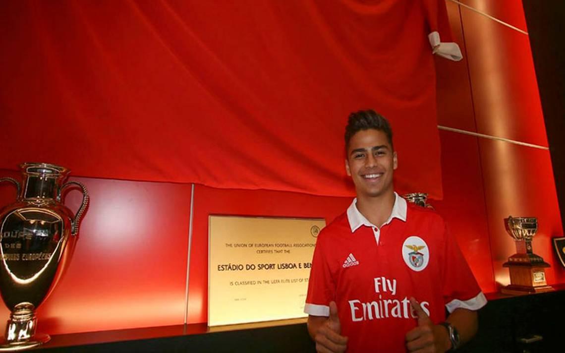 ¡Oficial! Otro mexicano vestirá los colores del Benfica