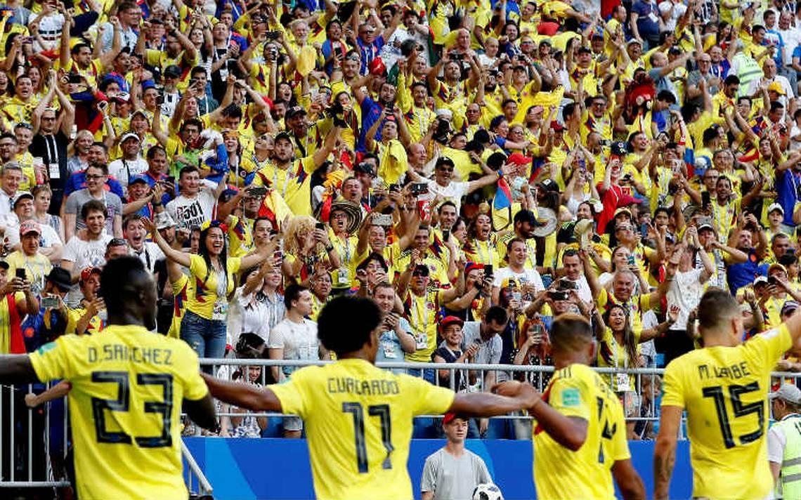 Con drama y James lesionado, Colombia gana a Senegal y va a octavos