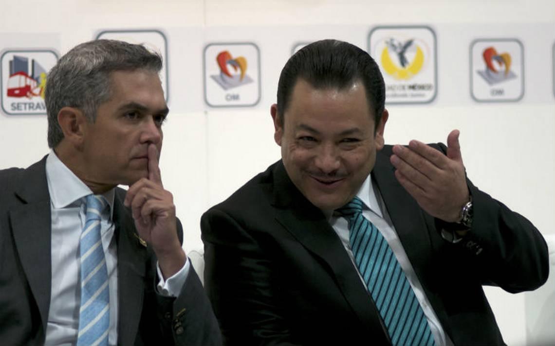 Héctor Serrano dejará este lunes la Secretaría de Movilidad capitalina