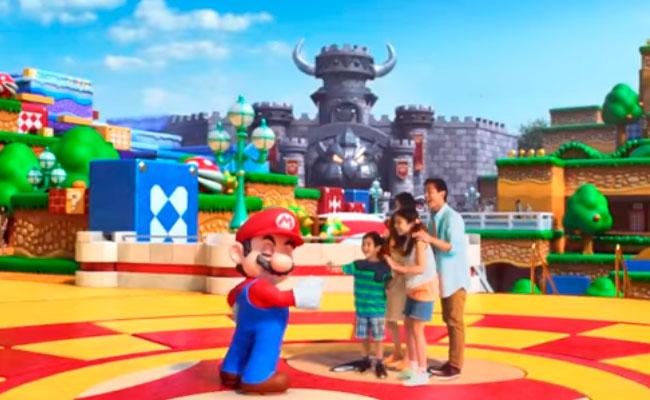 Descubre cómo será el mundo de Mario Bros. en parque temático