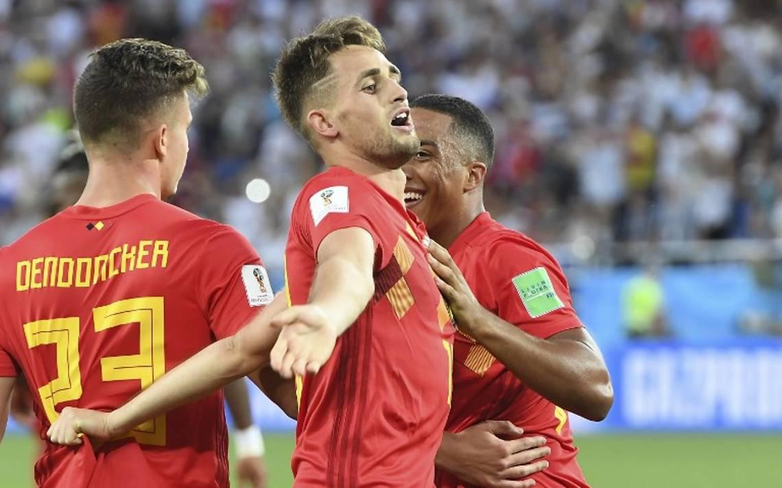 Bélgica se impone y le gana a Inglaterra; pasan a octavos del Mundial Rusia 2018