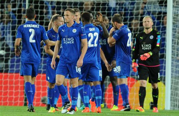 El Leicester en zona del descenso