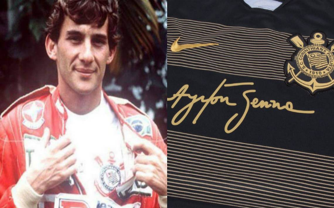 Corinthians presenta su tercer uniforme en homenaje al legendario Ayrton Senna