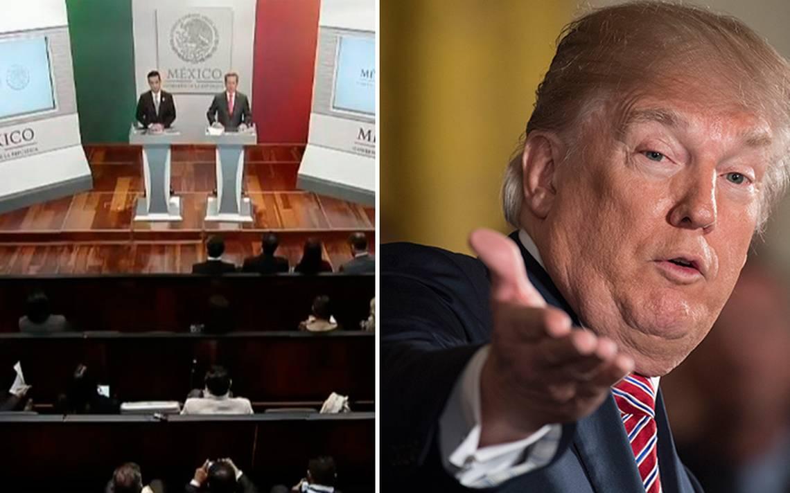 """""""No hay que confundir malacrianza con dignidad"""", responde Presidencia a Trump"""