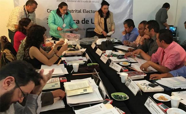 IEEM aprueba abrir más paquetes electorales; la cifra podría aumentar