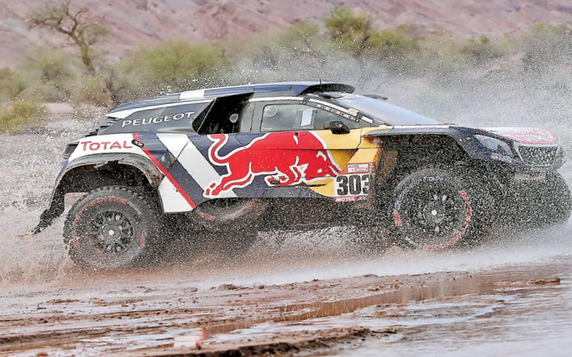 Carlos Sainz avanza al título del Rally Dakar 2018