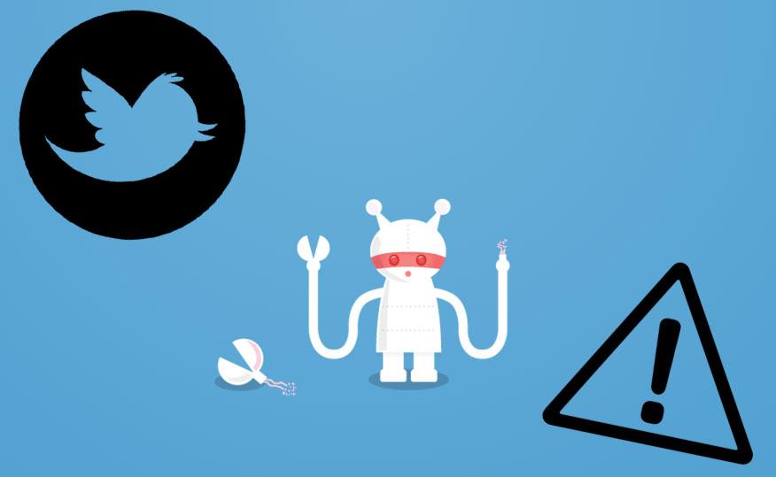 Twitter sufre una muy leve caída