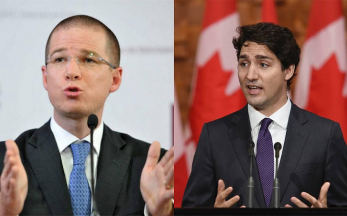 """Ante imposición de aranceles de EU, Trudeau y Anaya coinciden: """"es insultante e inaceptable"""""""