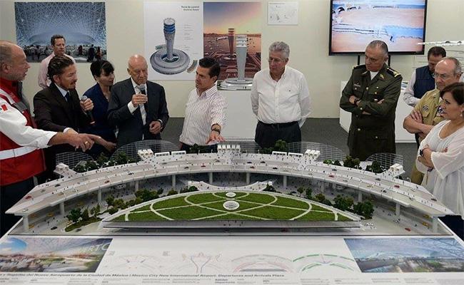 Nuevo Aeropuerto de la CDMX es esplendor de nuestro país: Peña Nieto