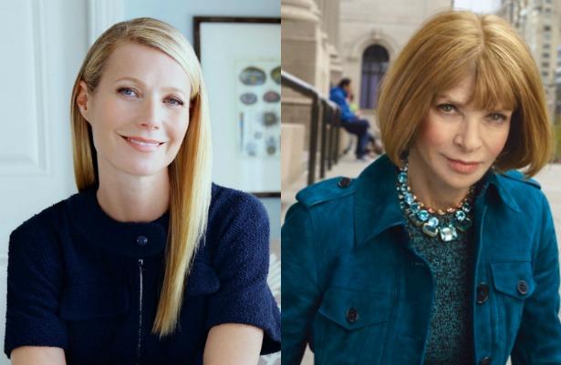 Gwyneth Paltrow y Anna Wintour se unen para nueva revista