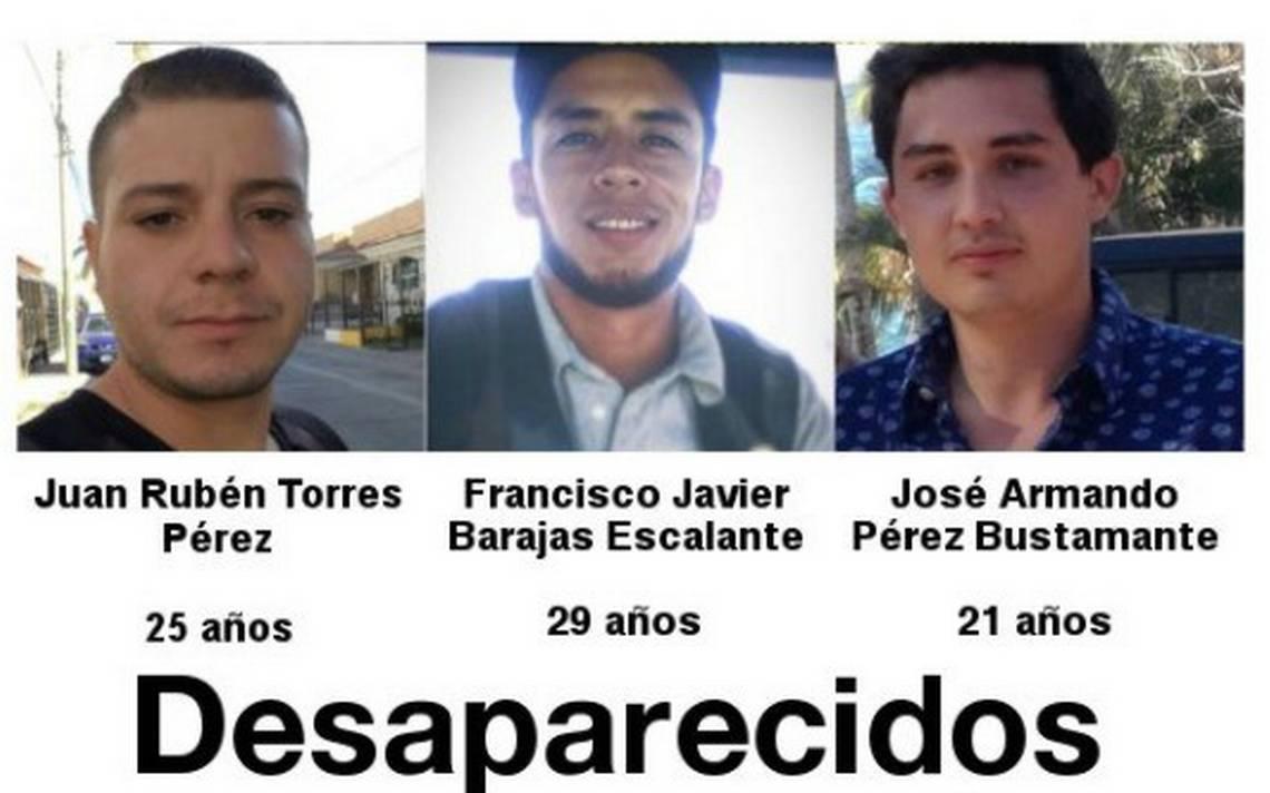 Denuncian desaparición de tres estudiantes más en Jalisco