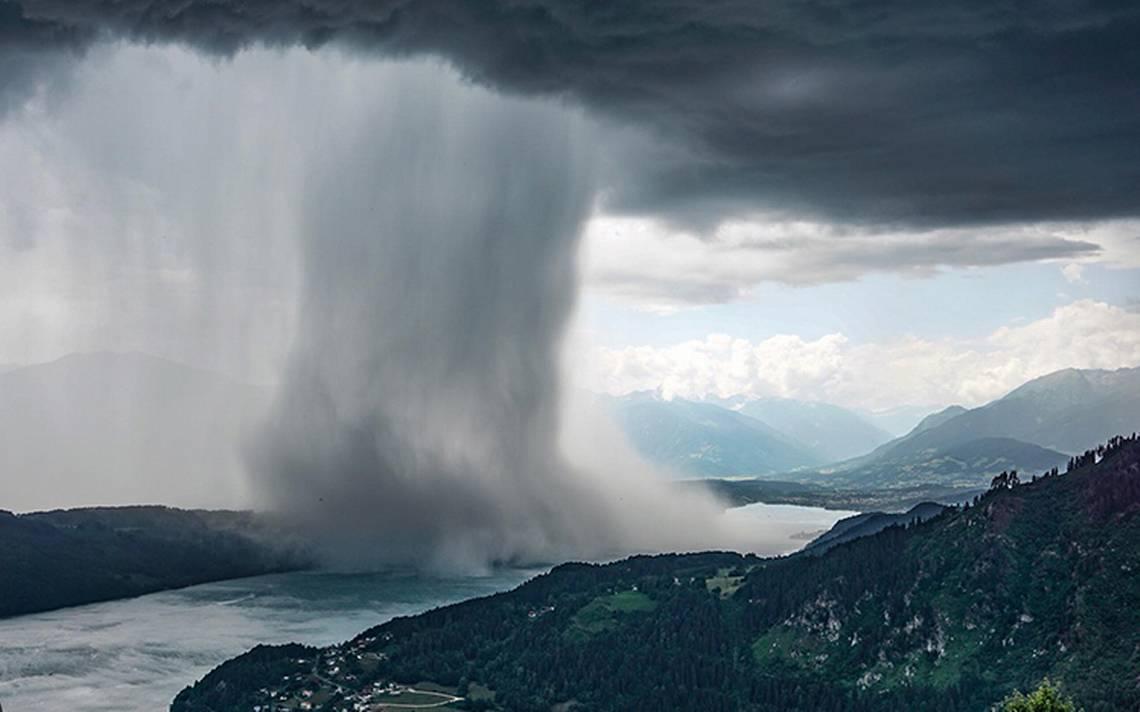 La belleza de la naturaleza: el video de la lluvia que está encantando a las redes