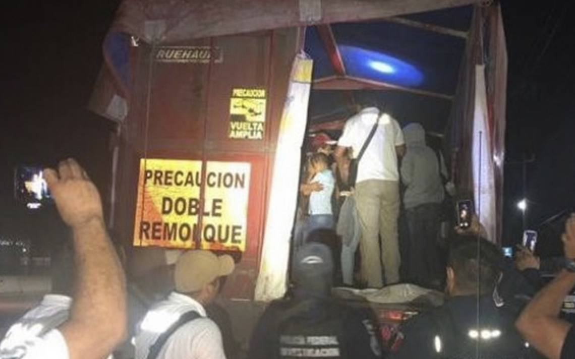 Aseguran a 149 migrantes en Tabasco; entre ellos viajaban 62 niños