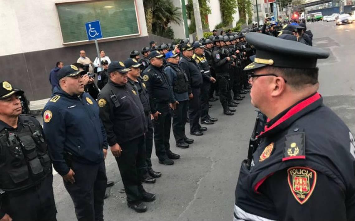 Cerca de 34 mil policías vigilarán elecciones en la CDMX