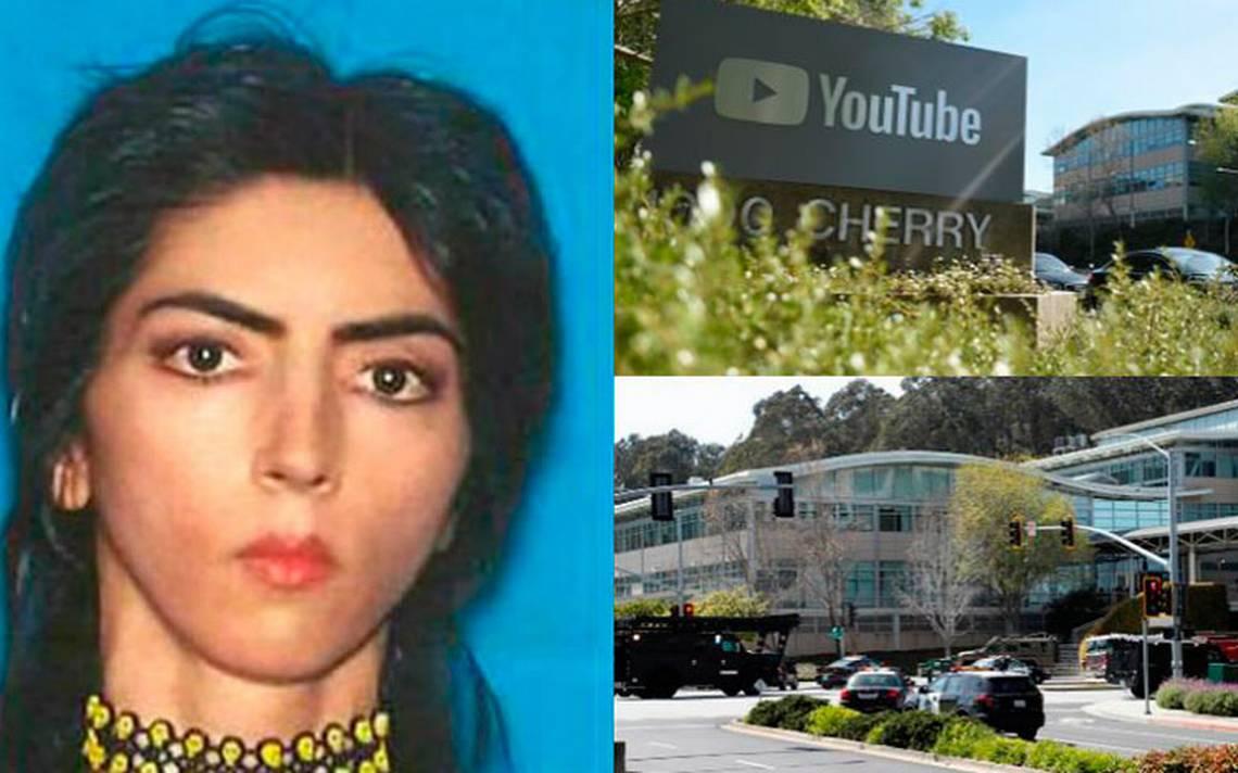 Bloguera vegana, responsable del tiroteo en sede de Youtube
