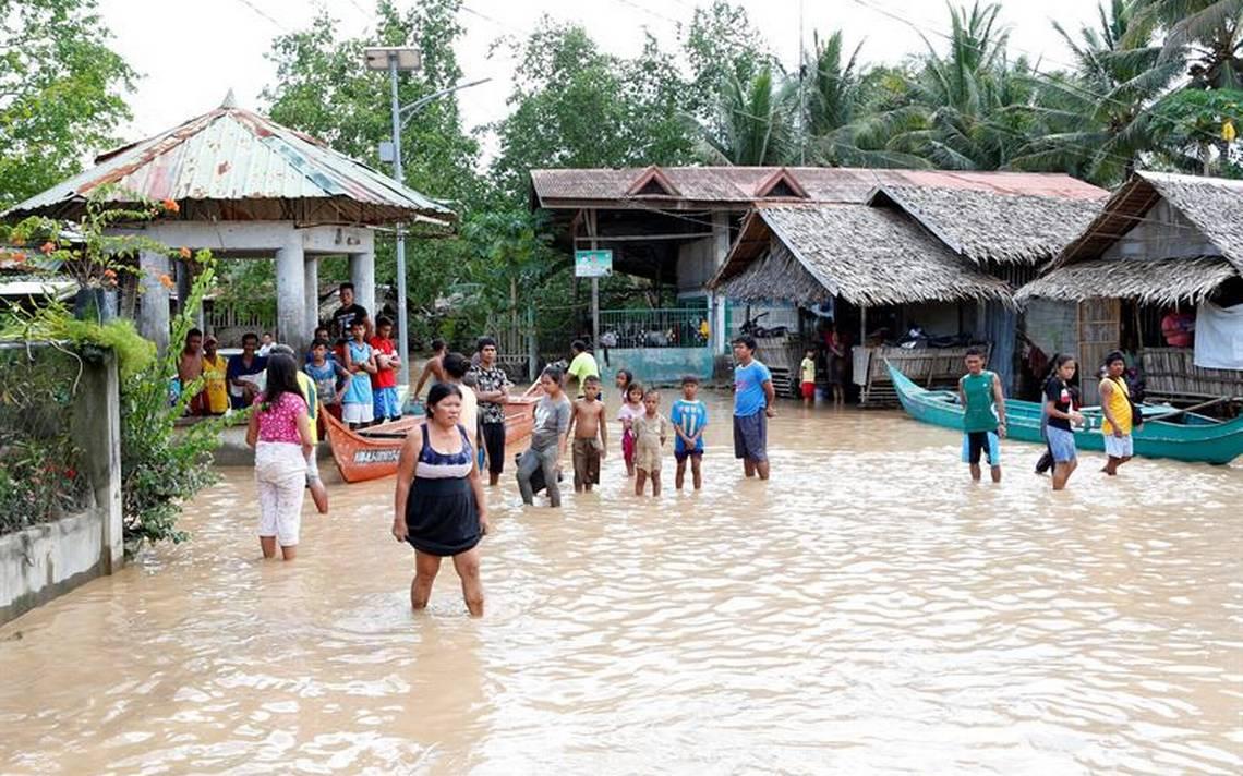 México se solidariza con Filipinas tras paso de tormenta Tembin