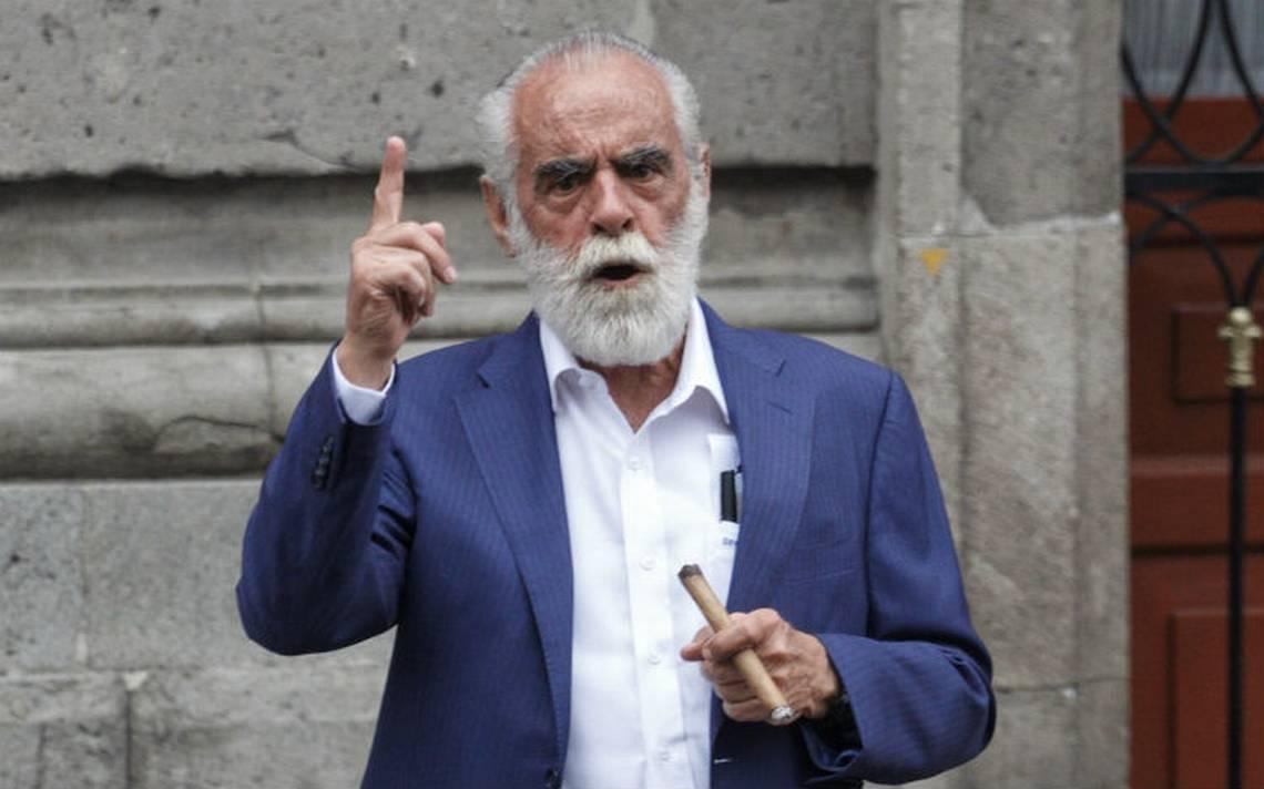Triunfo de AMLO es deleznable y negativo: Diego FernA?ndez de Cevallos